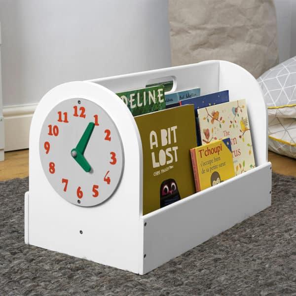 Tidy Books Children's Book Storage Box, Children's Book Storage Box, Tidy Books Book Box, Book Box, Tidy Books Box, Tidy Books Children's Book Storage Box White